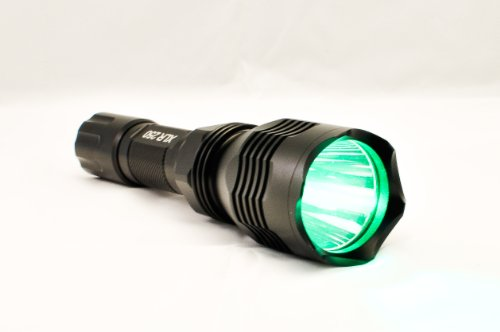 kill light xlr250 green gun mounted night hunting light. Black Bedroom Furniture Sets. Home Design Ideas